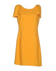 Max And Co. Dresses Short Dresses Women Ocher