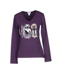 Tua By Braccialini T Shirts Purple