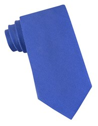 Michael Michael Kors Ring Neat Silk Woven Tie Blue
