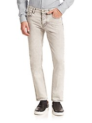 Ami Alexandre Mattiussi Washed Slim Fit Jeans Grey