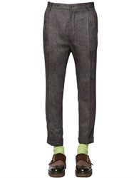 Etro 18Cm Paisley Wool And Silk Jacquard Pants