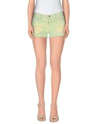 Amy Gee Trousers Shorts Women Acid Green