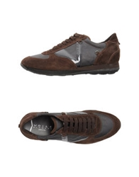 Voile Blanche Sneakers Dark Brown