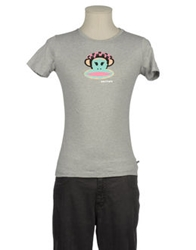 Paul Frank Short Sleeve T Shirts Light Grey