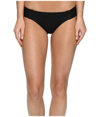Roxy Cozy And Soft Base Girl Bikini Bottom True Black Women's Swimwear