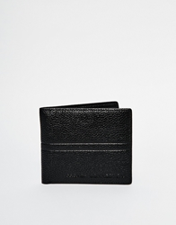 French Connection Leather Wallet Black