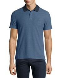 Penguin The Pop Slim Fit Polo Shirt Dark Denim