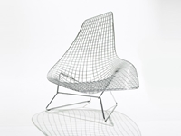 Buy The Knoll Bertoia Asymmetric Chaise Online At Nest.Co.Uk