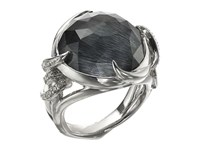 Stephen Webster Forget Me Knot Barb Ring W Blue Agate White Rhodium Ring Silver