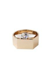 Maison Martin Margiela Line 11 Double Ring Gold