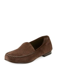 Tom Ford Howard Suede Loafer Chocolate
