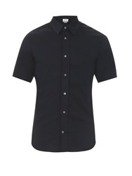 Acne Studios Otis Short Sleeved Shirt Navy