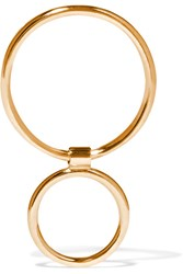 Sarah And Sebastian Two Bubble 14 Karat Gold Earring