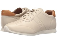 Cole Haan Trafton Vintage Trainer Sandshell Leather Women's Shoes Khaki