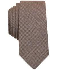 Bar Iii Solid Tie Only At Macy's Oatmeal