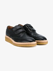 Weberhodelfeder Sacramento Leather Oxford Shoes Black White