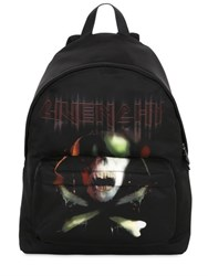 Givenchy Army Skull Printed Nylon Backpack