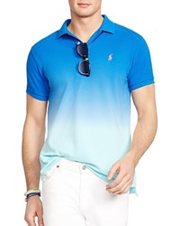 Polo Ralph Lauren Ombre Slim Fit Polo Shirt Bright Imperial Blue
