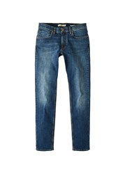 Mango Slim Fit Medium Wash Jan Jeans Blue