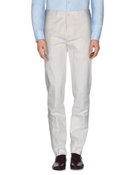 Gentryportofino Trousers Casual Trousers Men White