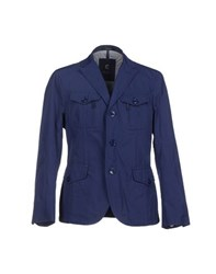 Calvaresi Coats And Jackets Jackets Men Blue