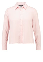 New Look Petite Boxy Shirt Shell Pink Nude