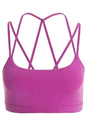 Gap Sports Bra Fuchsia Shock Rose