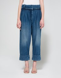 J.W.Anderson Pleat Front Trouser Washed Blue