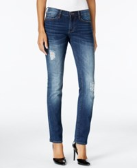 Buffalo David Bitton Faith Havoc Wash Straight Leg Jeans