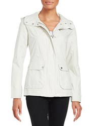 7 For All Mankind Peached Cotton Jacket Oyster