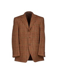 Michelangelo Blazers Brown