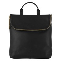 Whistles Mini Verity Leather Backpack Black