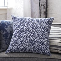 Cb2 The Hill Side Halftone Floral Print 20'' Pillow With Down Alternative Insert
