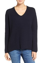 Madewell Women's Jocelyn Wool Pullover Navy