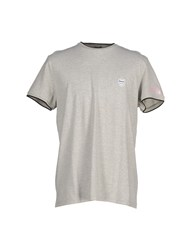 Pirelli Pzero Topwear T Shirts Men Light Grey