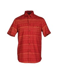 Altamont Shirts Shirts Men Rust