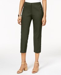 Styleandco. Style And Co. Capri Pants Only At Macy's Evening Olive