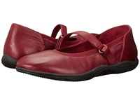 Softwalk Hollis Dark Red Soft Tumbled Leather Women's Shoes