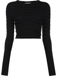 Opening Ceremony Cropped Top Black
