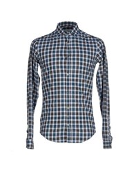 Aglini Shirts Shirts Men Deep Jade