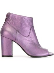 Golden Goose Deluxe Brand 'Claire' Boots Pink And Purple