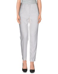 Stefanel Trousers Casual Trousers Women White