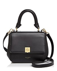 Ted Baker Cindra Small Trapeze Satchel Black