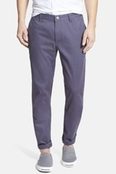 Bonobos Slim Fit Washed Chinos Blue