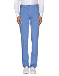 Henry Cotton's Trousers Casual Trousers Men Azure