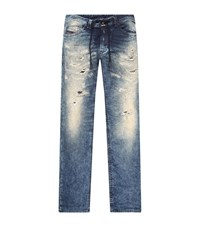 Diesel Royal Indigo Jean Joggers Male Blue