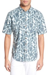 Men's Reyn Spooner 'Halu'a Batik' Trim Fit Sport Shirt