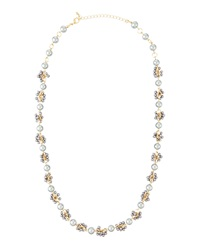 Fragments For Neiman Marcus Fragments Gray Faux Pearl Cluster Necklace