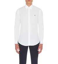 Ralph Lauren Slim Fit Single Cuff Shirt White