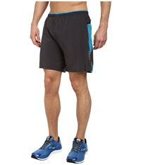 Brooks Sherpa Iv 2 In 1 7 Short Anthracite Atlantic Men's Shorts Brown